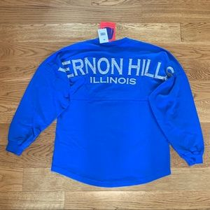 Vernon Hills Illinois Blue Spirit Jersey Small ⭐️